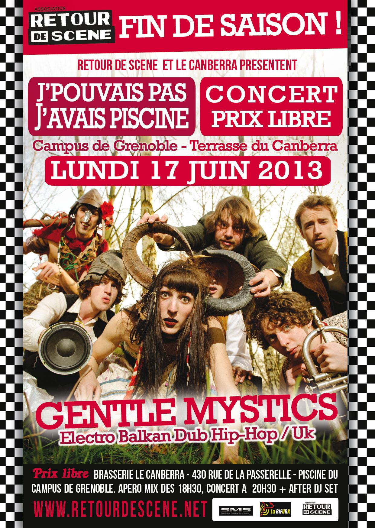 Gentle Mystics - Campus - 17/06/2013