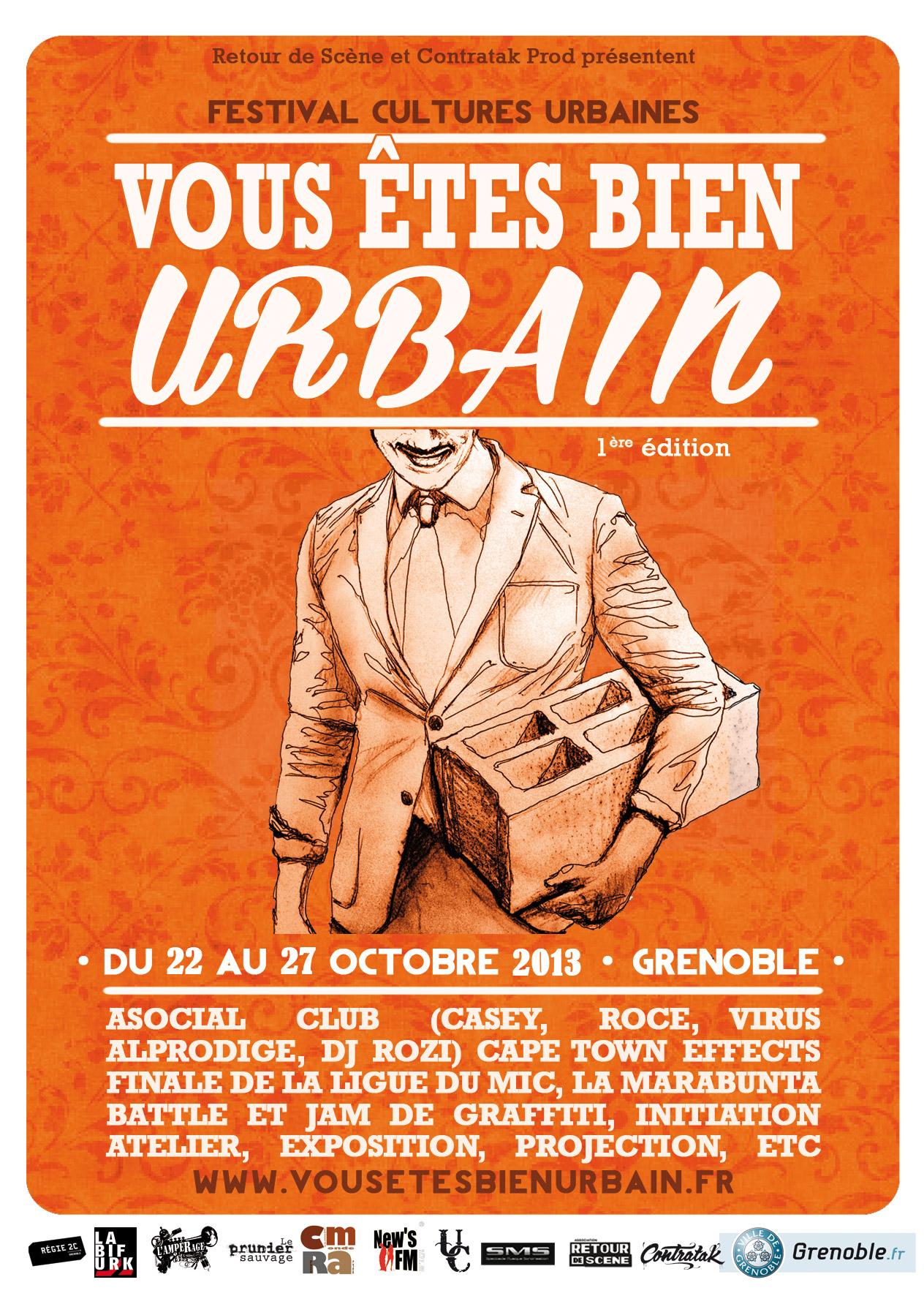 Festival Cultures Urbaines - Grenoble - 22/10/2013