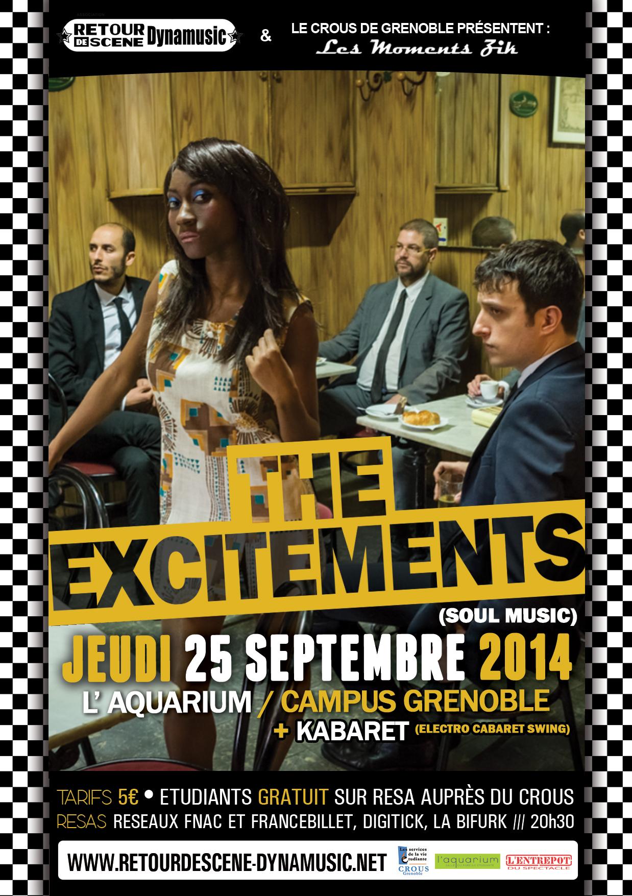 The Excitements - Aquarium - 25/11/2014