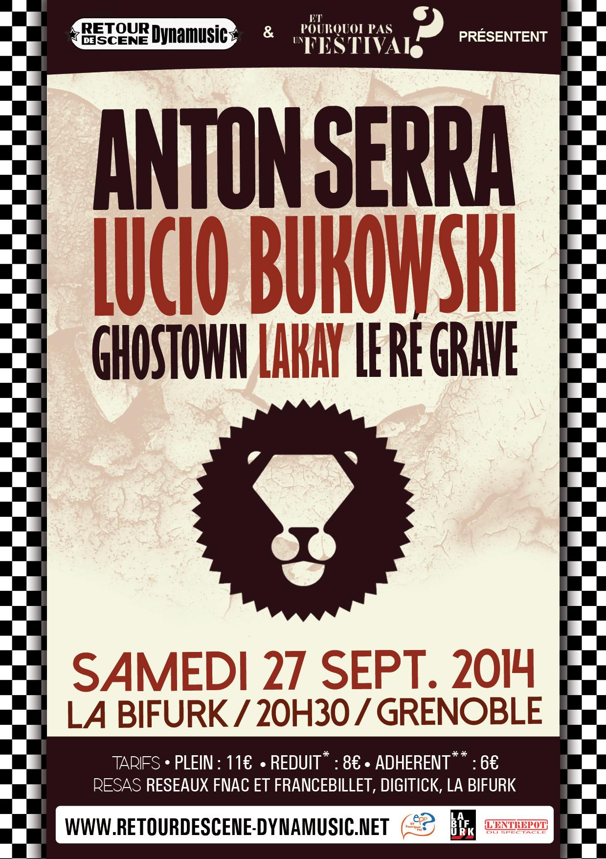 Anton Serra - La Bifurk - 27/09/2014