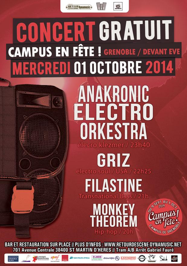 Campus en Fête - EVE - 01/10/2014