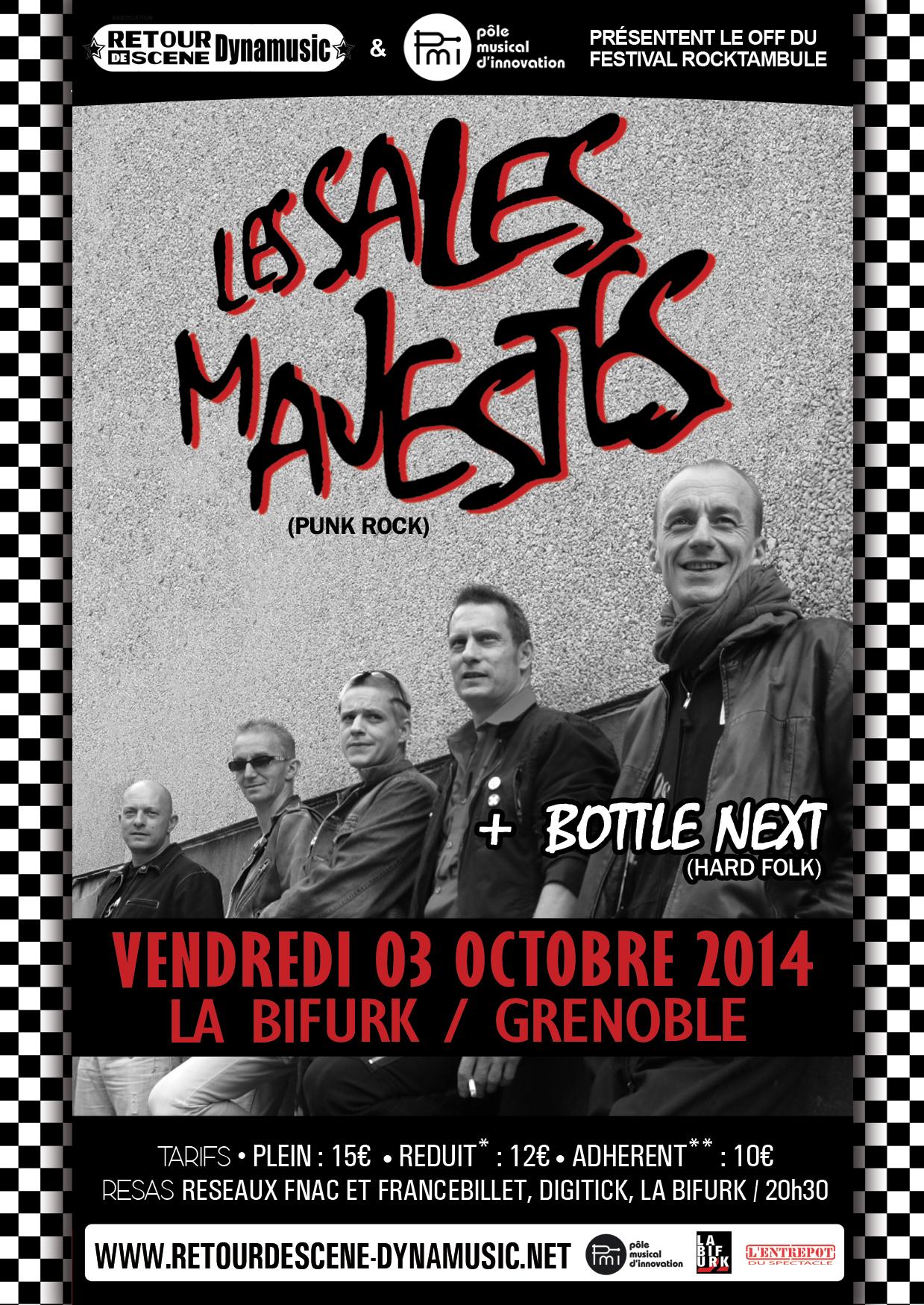 Les Sales Mavestes - La Bifurk - 03/10/2014