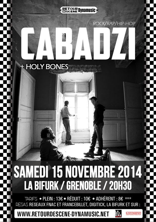 Cabadzi - La Bifurk - 15/11/2014