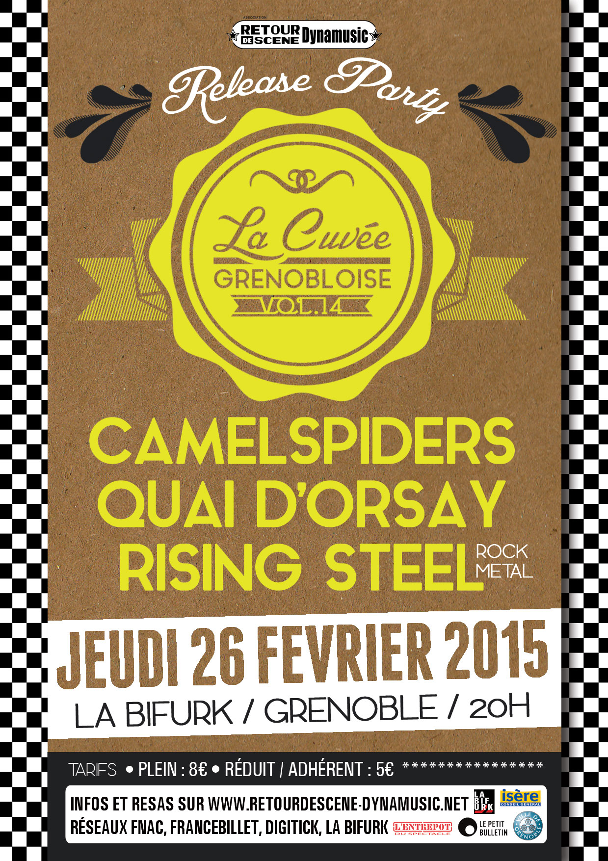 Cuvée Grenobloise 2014 - La Bifurk - 26/02/2015