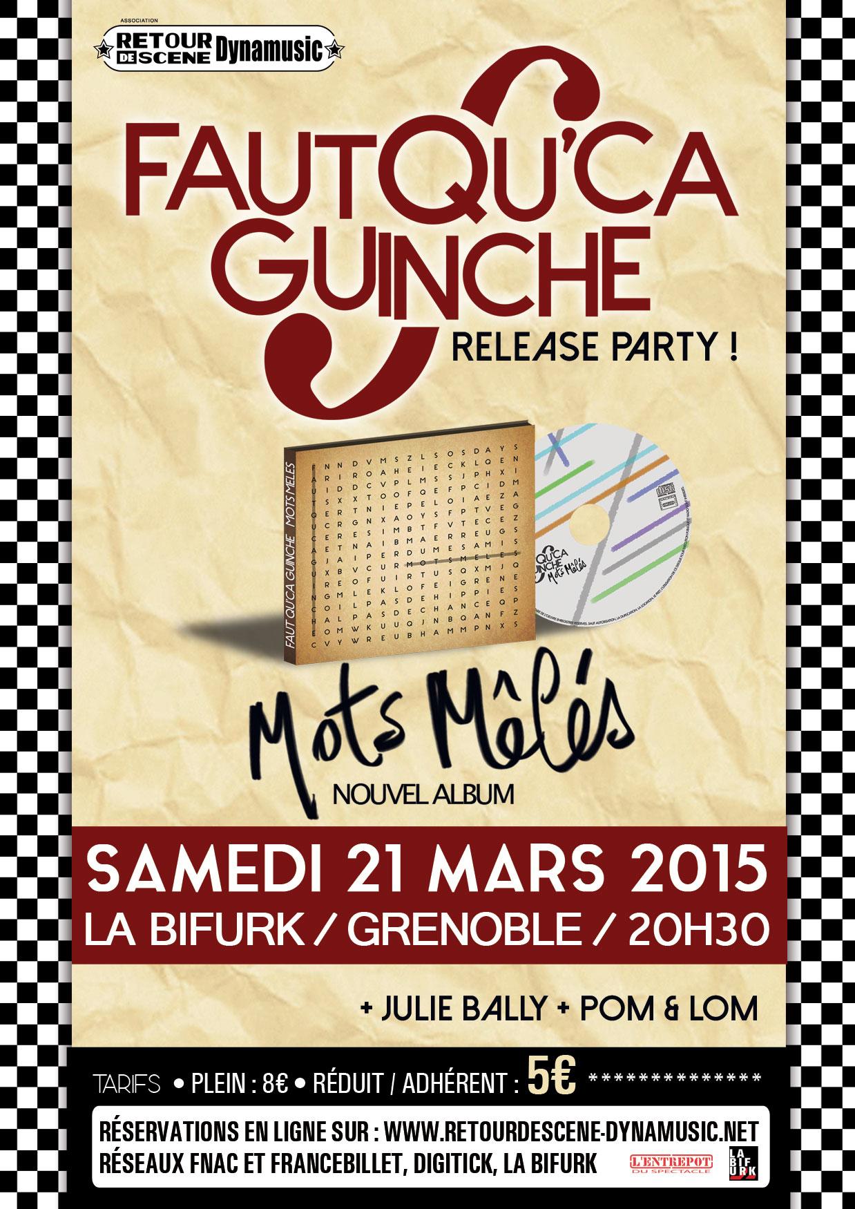 Faut Qu'ça Guinche - La Birfurk - 21/03/2015