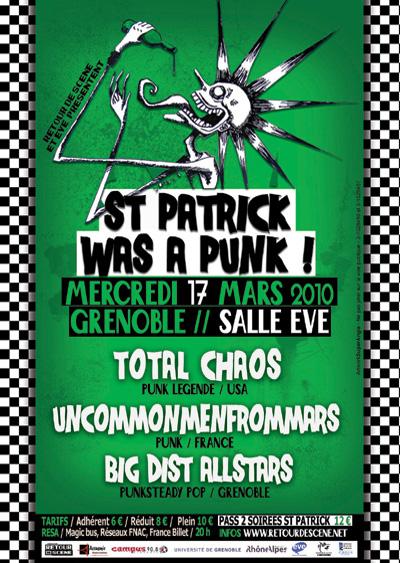 St Patrick Was a Punk - EVE - 17/03/2010