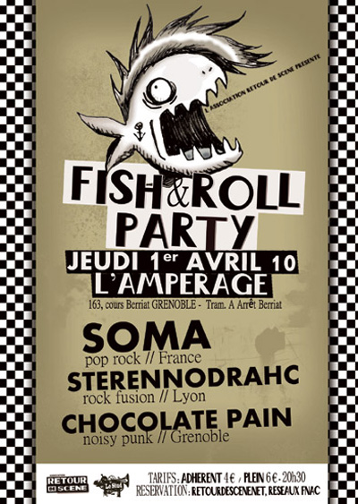 Fish & Roll Party - L'Amperage - 01/04/2010