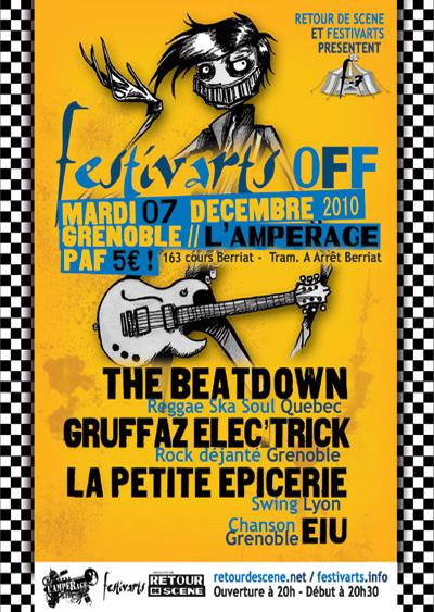Festivarts Off - l'Amperage - 07/12/2010