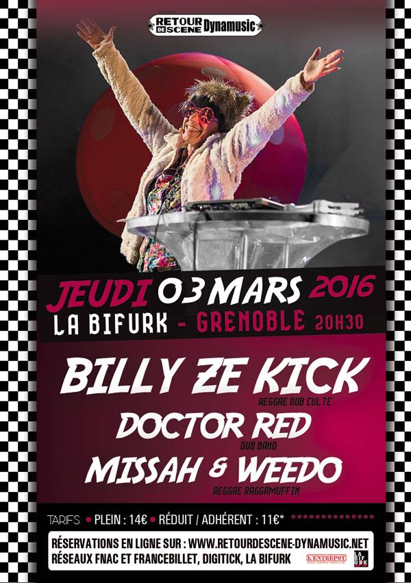 Billy Ze Zick - La Bifurk - 03/03/2016