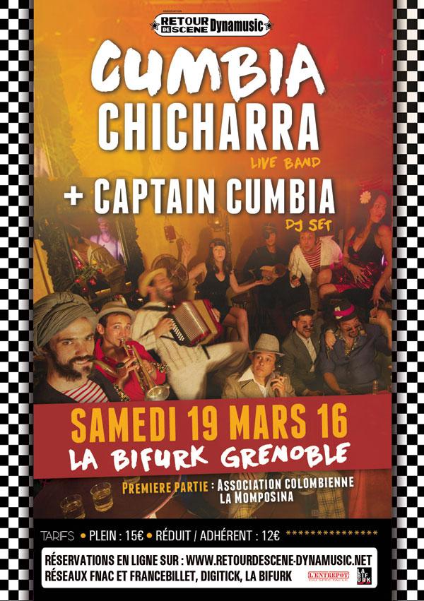 Cumbia Chicharra - La Bifurk - 19/03/2016