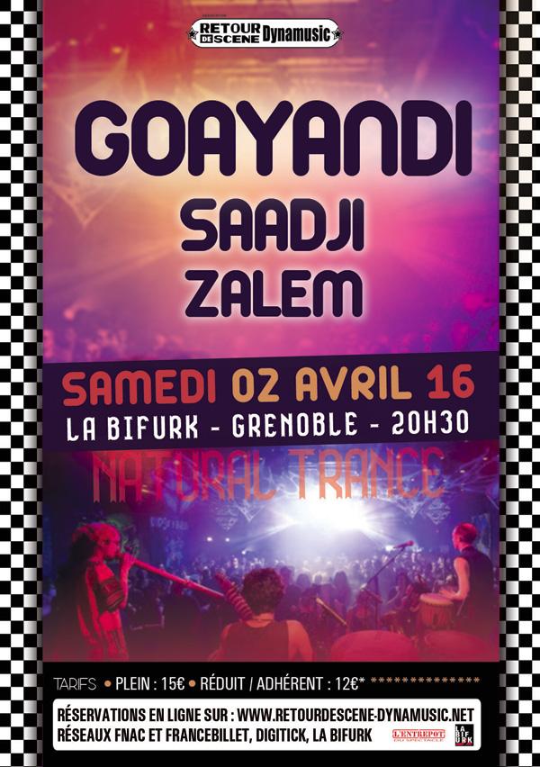 Goayandi - La Bifurk - 02/04/2016